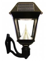 Solar Brite Single Head Wall Mounted Solar Lamp