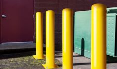 Bolt Down Metal Bollards