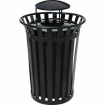 Commercial Steel Waste Receptacles