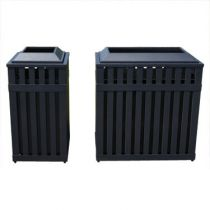 BarcoMaid™ Steel Slat Receptacles