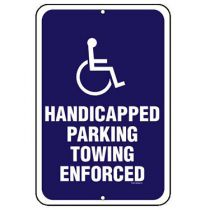 ADA Symbol Handicapped Parking Sign