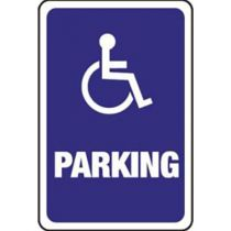 Accessible Symbol, Parking Sign