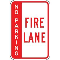 No Parking Fire Lane - Side Bar Sign