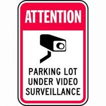 Attention Parking Lot Under Video Surveillance