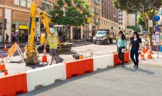 Pedestrian Traffic Barrier System