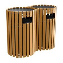 Round Slatted Recyclers - Two Units