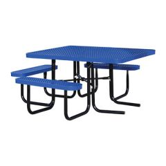 SuperSaver™ Commercial Square Wheelchair Accessible Picnic Table
