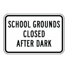 School Grounds Closed After Dark