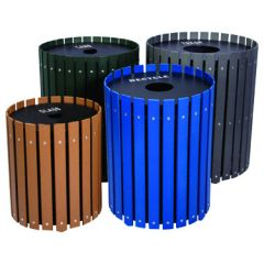 Round Slatted Recyclers - Single Unit