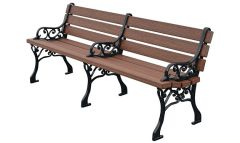Georgetown Bench – Wood Grain Naturals