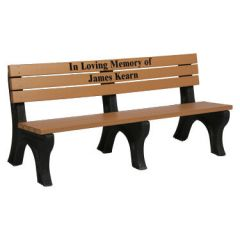Deluxe Inlay Memorial Benches