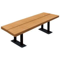 BarcoBoard™ Steel-Frame Double-Board Backless Benches