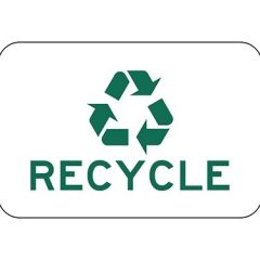 Recycle with Symbol Sign