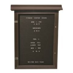 Large Vertical Letter Boards